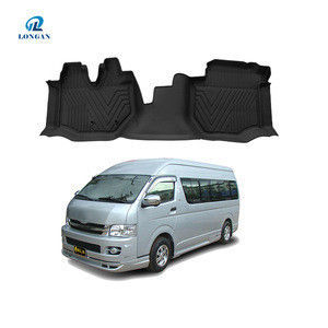Car Mat 4pc/set TPE Plastic Universal Fit car floor mats suitable for PRIUS/HILUX REVO/INNOVA