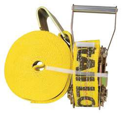 Cargo Strap Winch 27 ft x 2 In 3300 lb