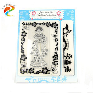 Children toy custom clear stamp for gift transparent stamp for scrapbooking