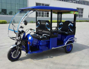 China Manufacturing Auto Rickshaw High Power electric tricycle for passenger