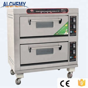 Commercial electric gas pizza bread bakery oven prices