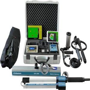 Free shipping GPA 3000 XS Model- 3D Underground scanner metal Detector KTS