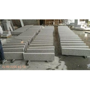 German curbstone B6 type Granite kerbs with all sides flamed