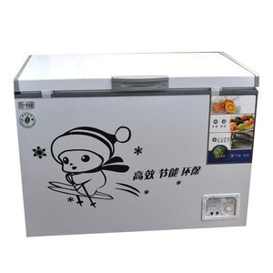 High quality compressor deep chest  freezer 300l from China