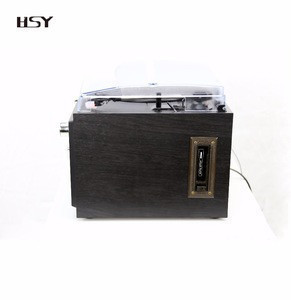 Home audio record cd turntables bluetooth old record player wholesale