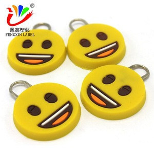 Hot-sale plastic zipper slider and puller PVC zipper pull decorative zipper pulls