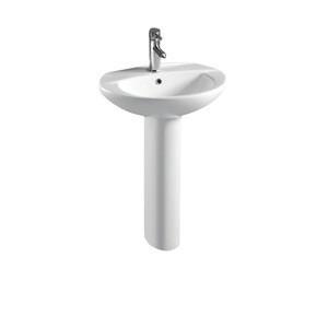 Hot selling Bathroom sanitary ware wash sink pedestal basin