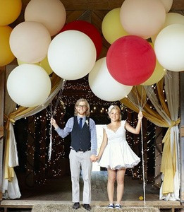 Large Giant 36 inch Colorful Latex Balloons for Decoration