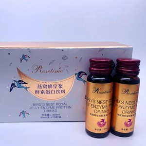 Natural plant fruit drink for Whitening collagen Birds' nest royal jelly enzyme protein drinks