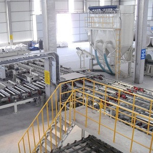 New Cheap Gypsum Board Production Line with wall board cutting machine price