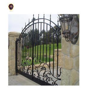 New design latest indian house cast iron main gates  IGZ-079