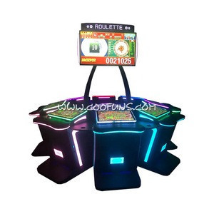 New Popular Casino Gambling Touch Screen Video Roulette Machine Electronic Game Table for Sale
