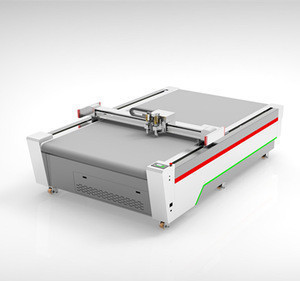 oscillating knife cutting machine, flatbed cutting plotter