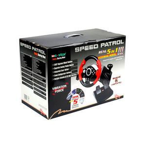 Promotional Wholesales Video Game For PC Steering Wheel Cowboy Racing Car Game Steering Wheel