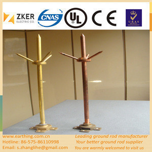 Protection System Thunder Arrester Ligtning protection lightning rod prices