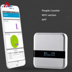 Retail Store wifi people counter counting systemInfrared wifi visitor counters