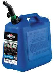 Spill Proof Kerosene Can 5 Gal. Blue