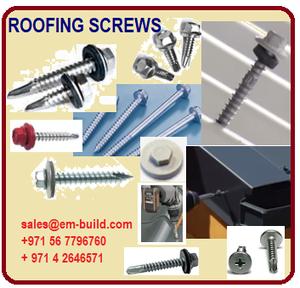 Stainless Steel( SS) self drilling screws / GI Self Tapping screws/ GI Self Drilling screws Color caps + 971 565478106