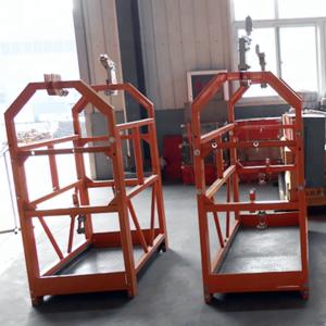 Supply ZLP800 7.5m 800KG suspended working platform/electric scaffolding