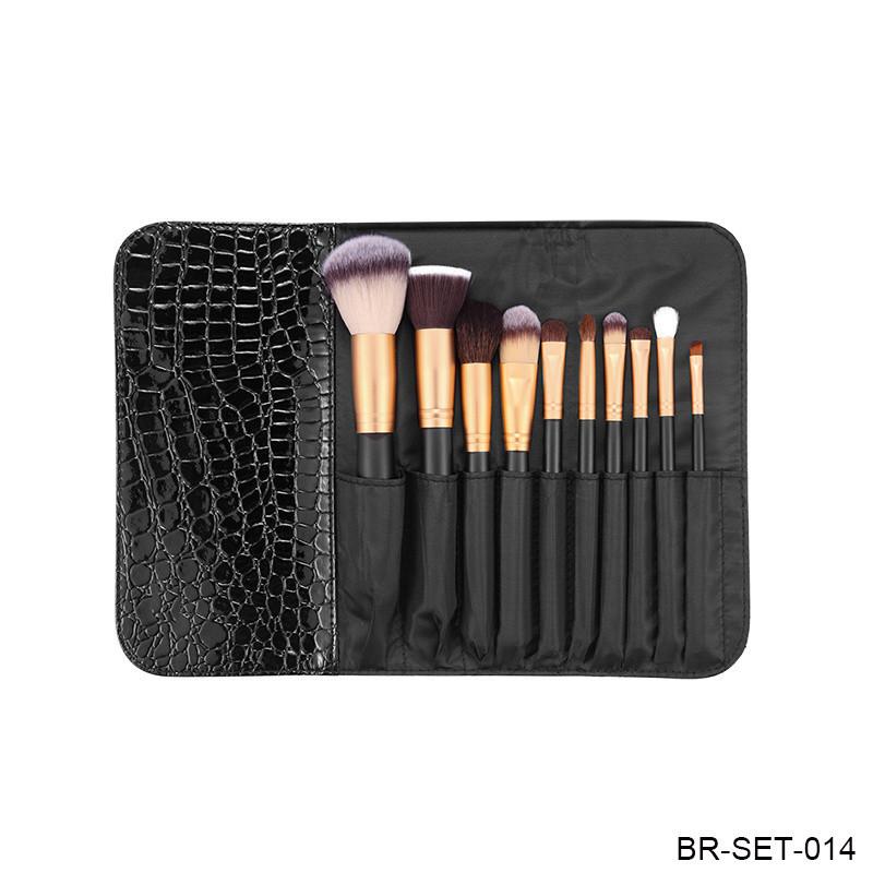 Travel Brush Cosmetic Brush Makeup Brush with Porch