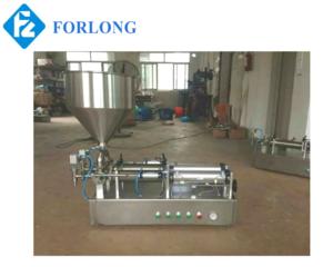 Two nozzles semi automatic piston paste filler/ cosmetic cream filling machine TGGZ-500*2