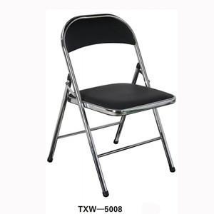 Wholesale cheap used school furniture metal folding chair padded used school furniture for sale folding chair metal