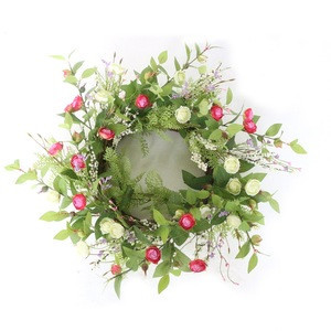 Wholesale Girls Beautiful Artificial Flower Wreath For Party Festival Decoration