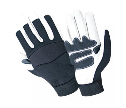work safety custom hand tools impact synthetic leather mechanic gloves wholesale