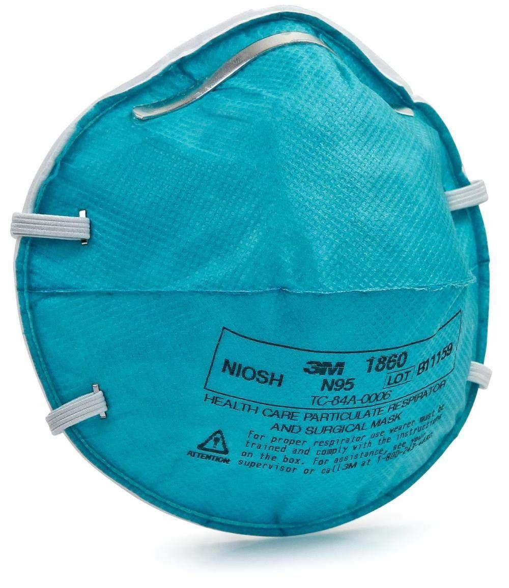 3M™ Standard N95 1860 Health Care Disposable Particulate Respirator