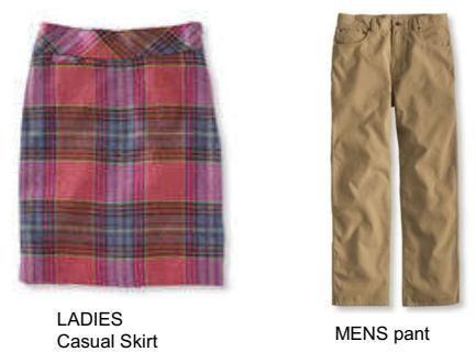 Skirt & Long Pant