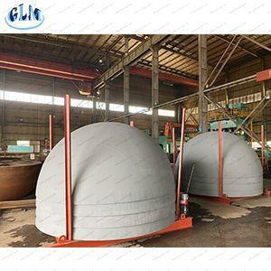 Carbon Steel Metal Hemisphere Tank Ends Silo Cover Tank End Caps Steel