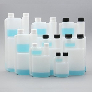 100ml to 1000ml HDPE Plastic Fuel Additive Dispensing Twin Neck Bottle