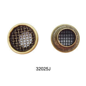 10mm Metal Antique Brass Mesh Eyelets For Garment