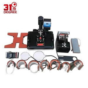 15  in 1 Heat press Machine Sublimation pen press machine Heat Transfer Machine for ball/Shoes /Cap/Mug Plate/Tshirts
