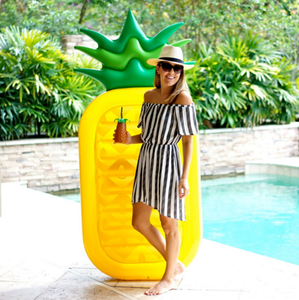 2018 pvc inflatable pineapple float toy swimming pool float inflatable pineapple float raft in stock