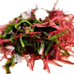 2020 Korean  seaweed salad Korean Dried seaweed bibimbap & Salad Nutrient-packed seaweed salad mix in water for 3 minutes