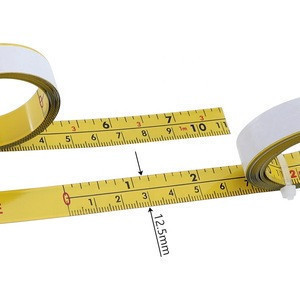 2M Inch & Metric Self Adhesive Tape Measure Steel Miter Track Ruler for Router Table T-track Woodworking Measuring Tools