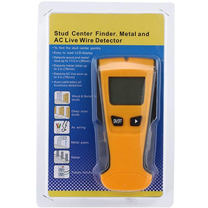 3-in-1 Gold Metal Voltage and Audio Stud Detector