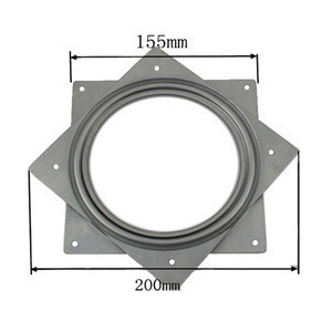 """6"""" 6 inch modern 360 degree free rotation iron turntable hollow plate swivel plate"""