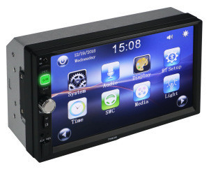 7 inch 2 double Din car radio MP5 player car stereo with touch screen USB FM and mirror link