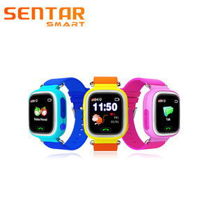 Anti-loss V80-1.22 digital watch for Kids with GPS/LBS Tracking System Monitor Voice Message Recording Smart Watch