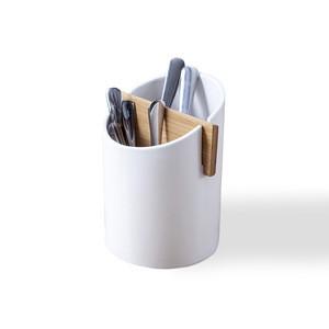 Ceramic cutlery holder custom design ceramic Kitchen tools pot storage kitchen ware ceramic utensil holder
