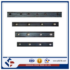 China supply new design railway fish plate for train parts