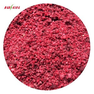 Chinese Frozen Cheap Berry Fruit crumbled Raspberries