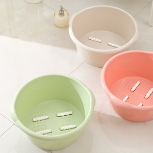 Chinese manufacturer best price function bucket rest for tub plastic massage foot spa basin