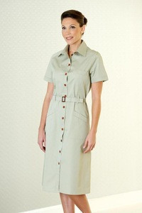 Custom Made Hotel House Keeping Uniforms Low MOQ Quick Production All Sizes Custom Fabric Uniform Hotel Housekeeping