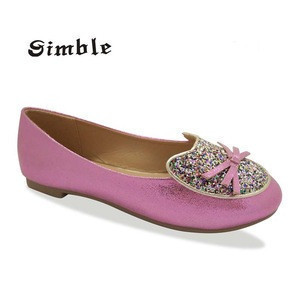 Dance girl flat ballet pointe shoes