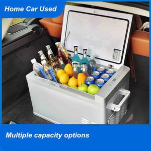 Factory Directly Wholesale 30/40/50L Refrigerator Home Car Use Travel Camping 12/24/220V Car Fridge Freezer Refrigerator