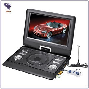 Fast delivery portable 12v dvd player without screen naviskauto mkv with usb
