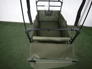 Garden Outdoor Folding utility trolley set